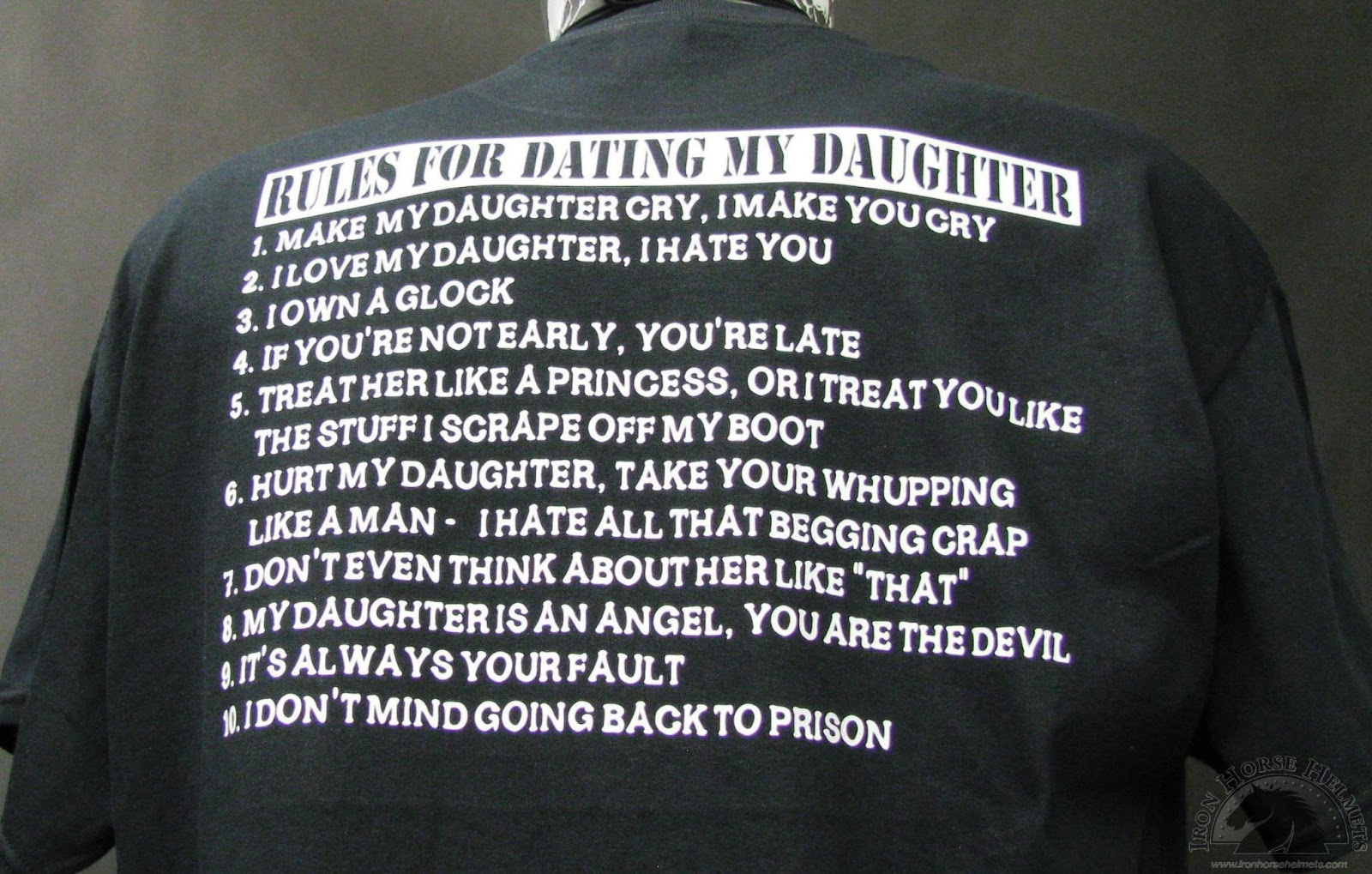 Ranger Rules For Dating My Daughter